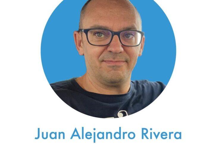 Juan Alejandro vocal de medios de comunicación y redes sociales de los Cursillos de Cristiandad