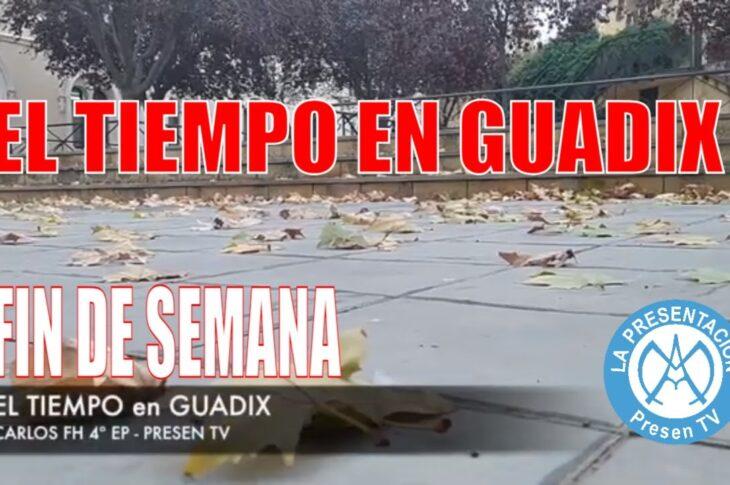 El tiempo en Guadix