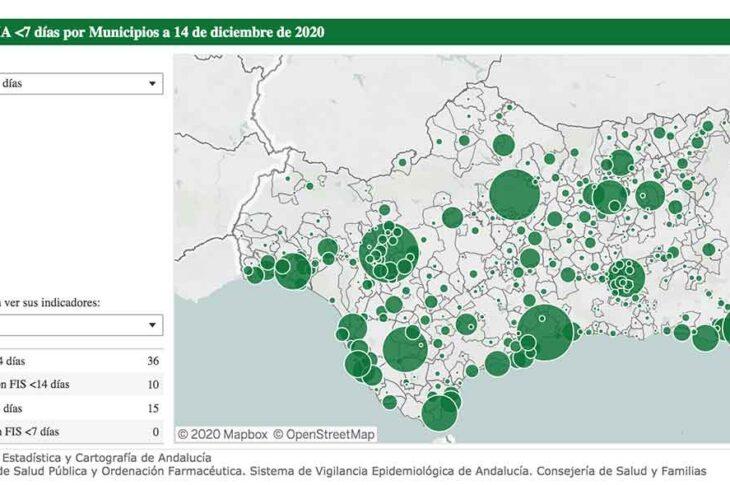 6 nuevos casos por covid en los últimos 7 días en Guadix tras el fin de semana