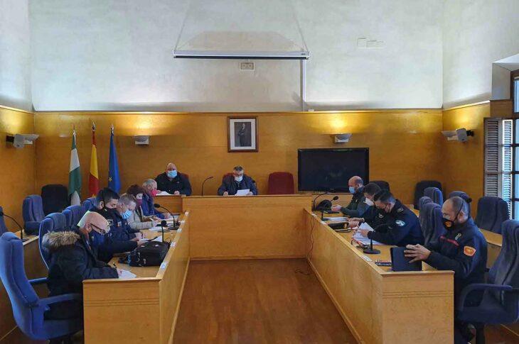 Junta de seguridad Guadix