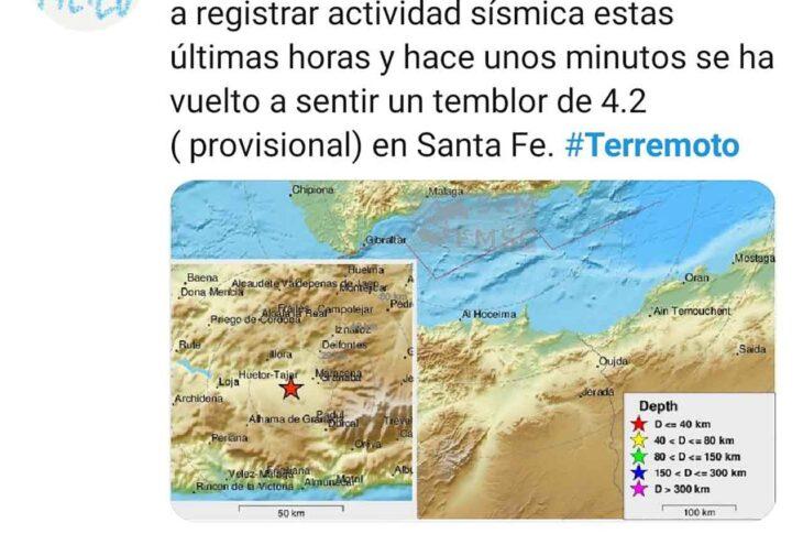 Fuerte terremoto en Santa Fe