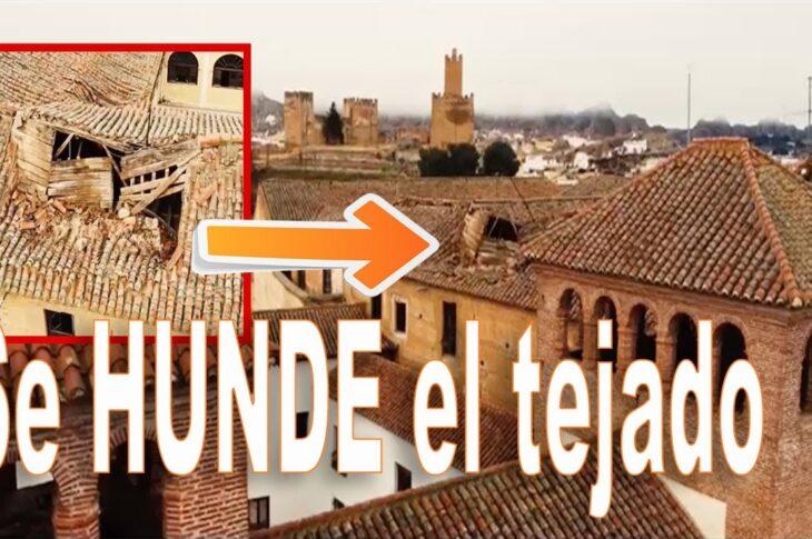 Hundimiento del tejado del antiguo Seminario de Guadix