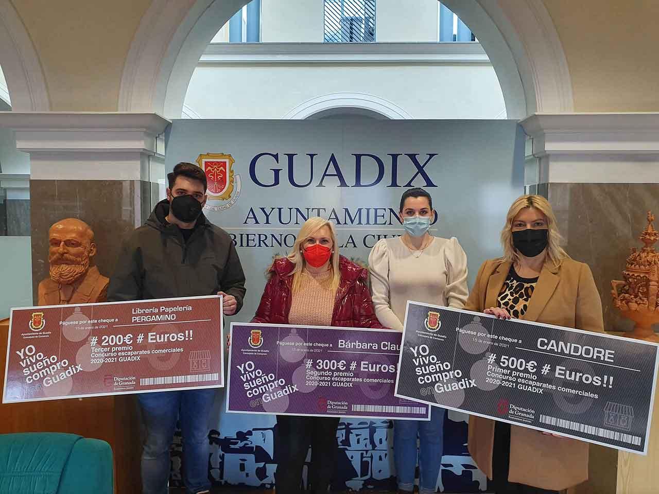 Premios escaparates Guadix