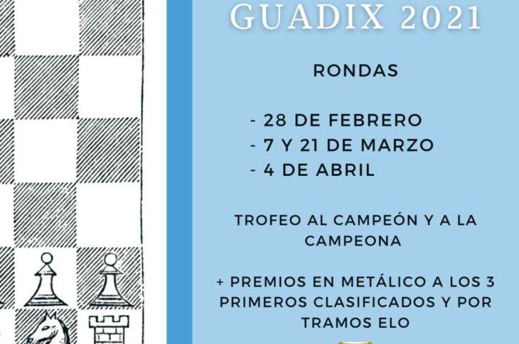 Campeonato ajedrez absoluto Guadix