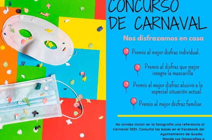 Concurso de disfraces Carnaval Guadix