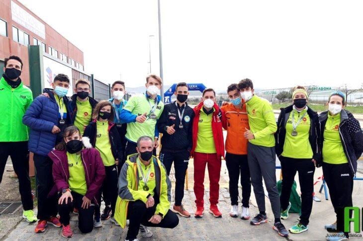 Juventud Atlética Guadix consigue 8 medallas en el campeonato de Andalucía