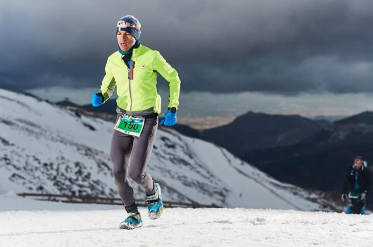 Snowrunning Sierra Nevada