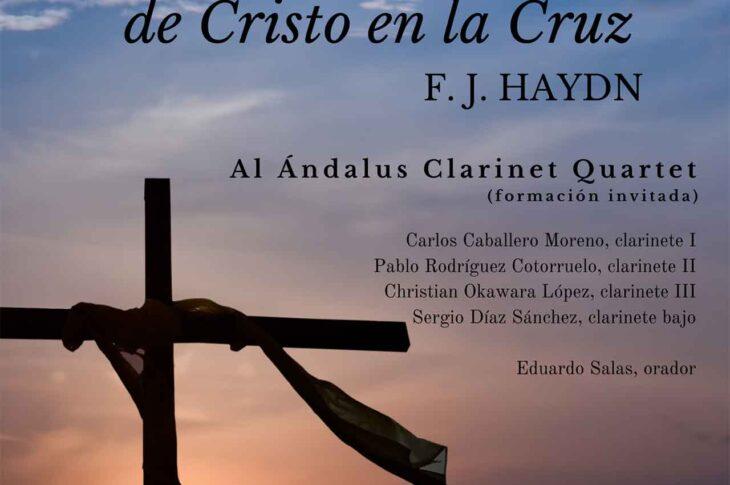 """Concierto """"Las siete últimas palabras de Cristo en la Cruz"""" en Guadix"""