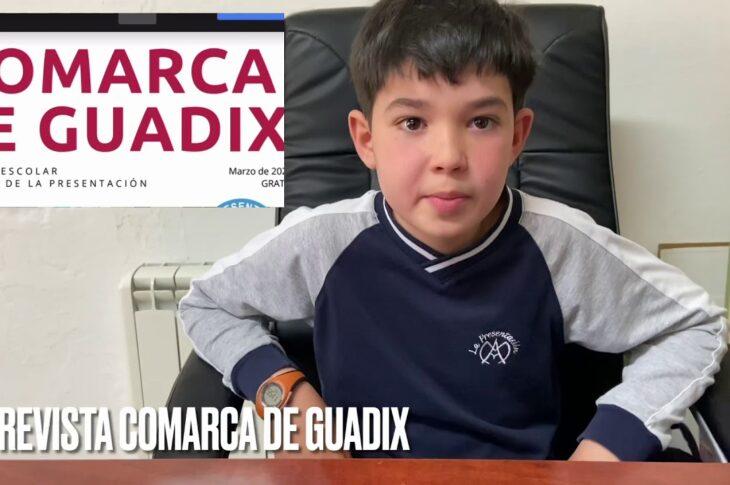¡¡ Ya puedes DESCARGAR LA REVISTA COMARCA DE GUADIX del MES DE MARZO !!