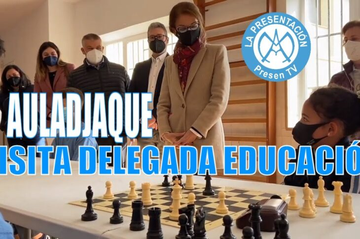 La Delegada de educación visita el Colegio de La Presentación de Guadix