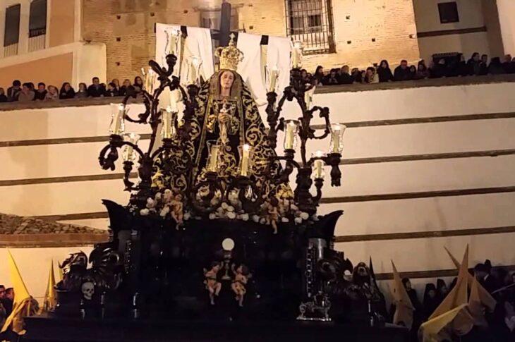 Tárrago y Mateos en 1910 introdujo innovaciones en la Hermandad de la Soledad