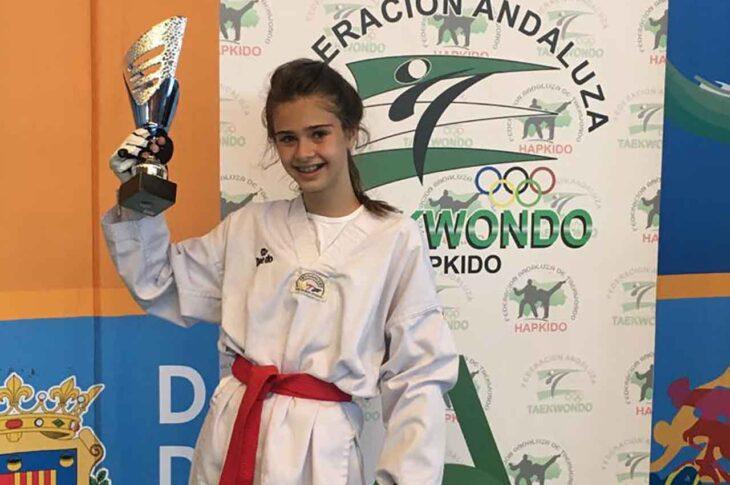 Alejandra Campoy taekwondo