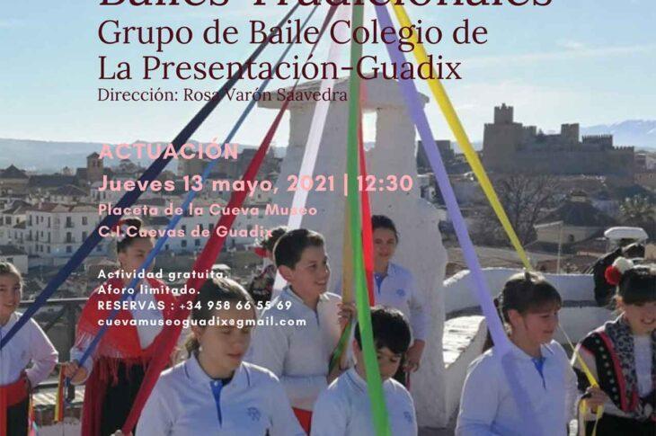 Grupo de baile del Colegio de La Presentación de Guadix