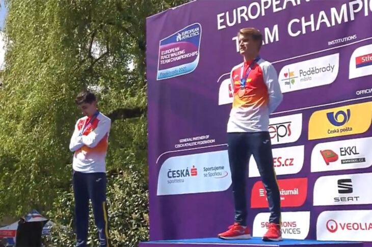 José Luis Hidalgo campeón de Europa