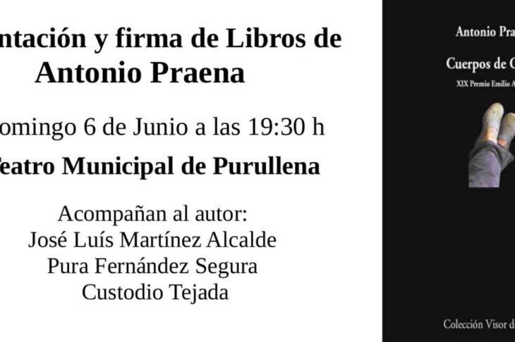Presentación libro Antonio Praena