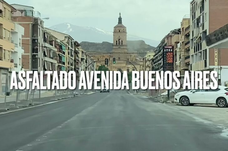 Avenida Buenos Aires de Guadix