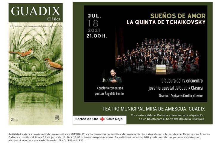 Sueños de amor concierto Guadix clásica