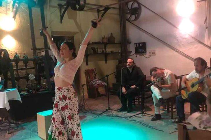 Flamenco en la Almazara de Paulenca