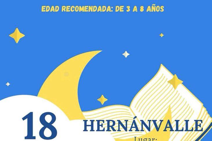 Cuenta cuentos en Hernán Valle