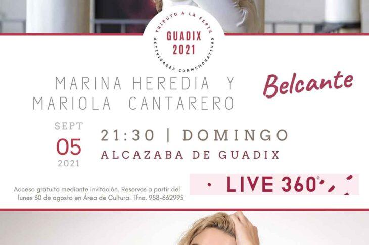 Marina Heredia y Mariola Cantarero
