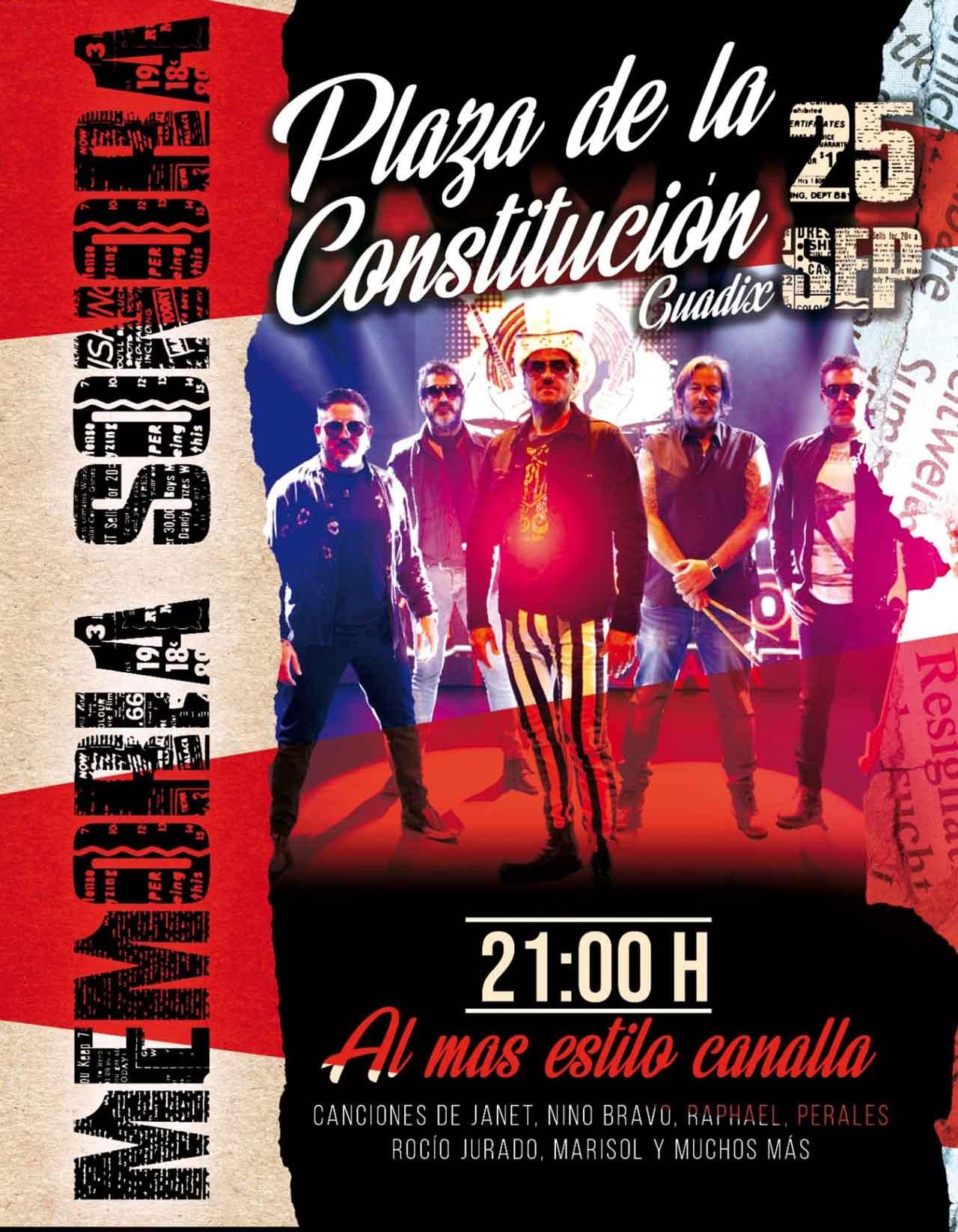 Concierto Memoria Sonora en Guadix