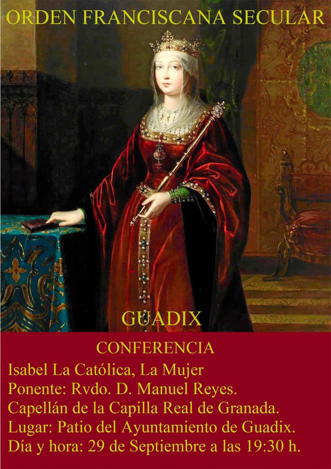 Conferencia sobre Isabel La Católica