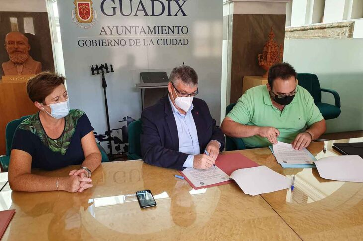 Convenio Federación de Hermandades y cofradías de Guadix