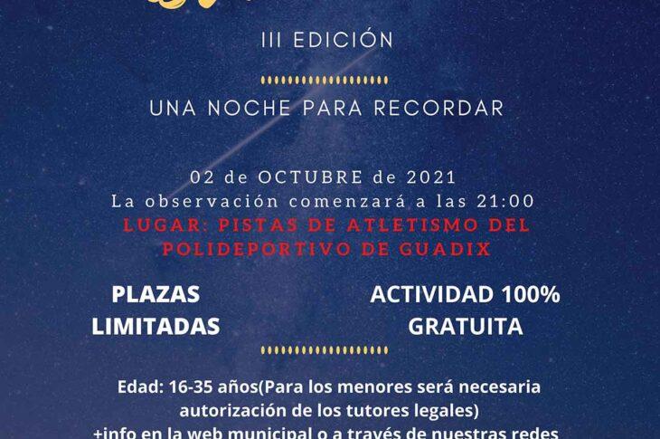 Observación astronómica en Guadix