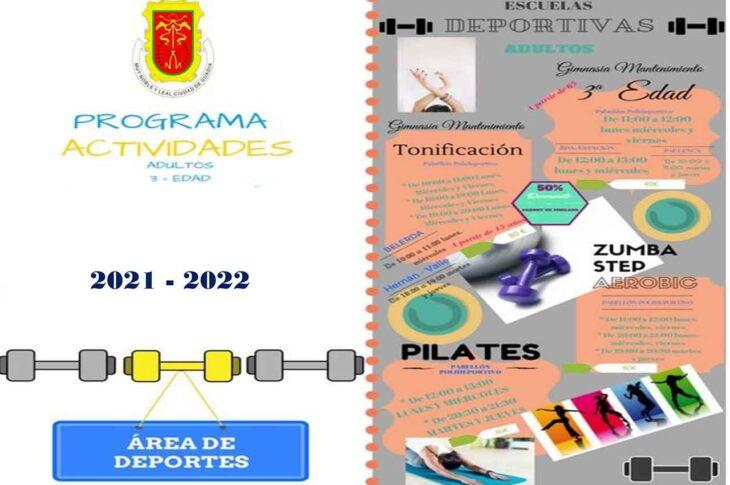 Programa de actividades 2021-2022 Guadix