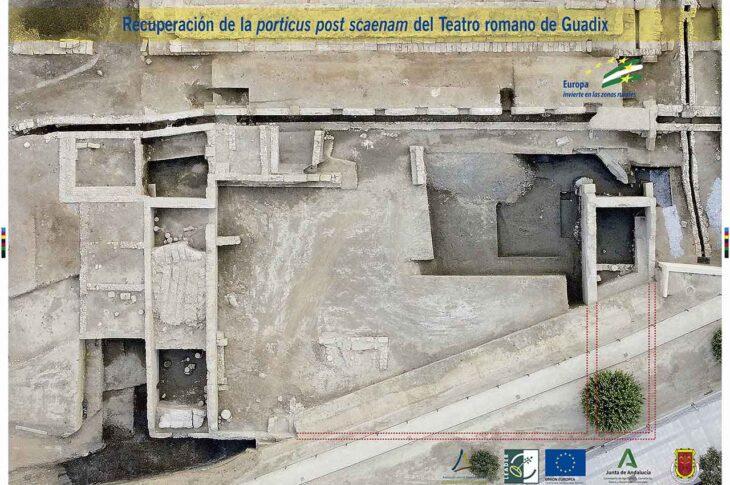 PORTICUM SCAENMA de Guadix