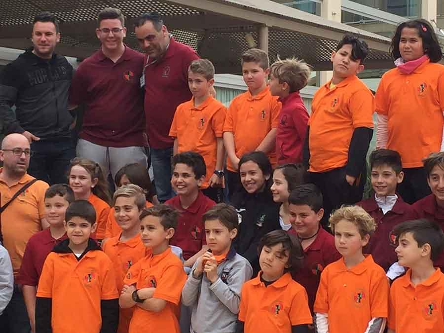Eloy en el campeonato de Andalucía